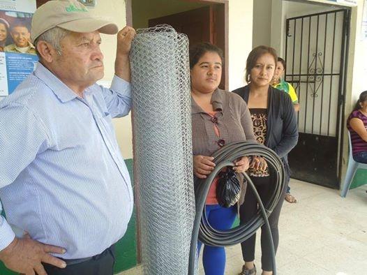 EL GOBIERNO PARROQUIAL LARAMA - APOYANDO EL DESARROLLO PRODUCTIVO DE SU GENTE.
